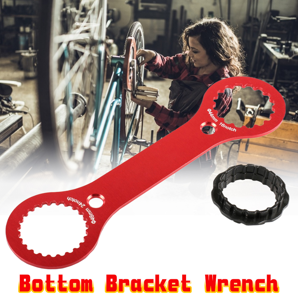 BIKEHAND 46mm Bottom Bracket Wrench with Handle Remover Tool